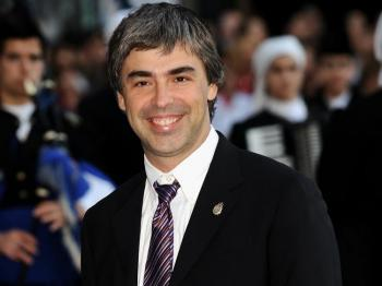 Larry Page at the Prince of Asturias Award Ceremony on October 2008. Last week, technology giant Google Inc. named co-founder Larry Page to take over as the new CEO. (Carlos Alvarez/Getty Images)