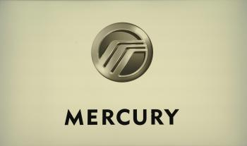 A logo of the Mercury division of Ford Motor Company. (Stan Honda/AFP/Getty Images)