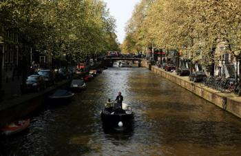 The mayor estimated that for 1 million out of the 4 million tourists who visit Amsterdam each year, coffee shops are a reason for their visit. (Mark Dadswell/Getty Images)