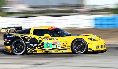The ever-popular Corvettes will battle Porsche, Ferrari, BMW and Aston Martin for the GTE title. (James Fish/The Epoch Times)