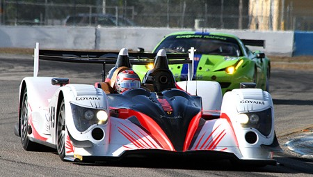 WEC cars like the Pecom Oreca and Krohn Ferrari are crossing the Atlantic to compete for a win at Sebring. (James Fish/The Epoch Times)