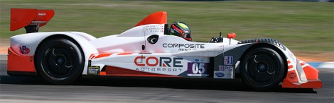 Ryan Dalziel and Alex Popow will start at the front of the PC grid in the #06 Core Autosport Oreca FLM09. (James Fish/The Epoch Times)