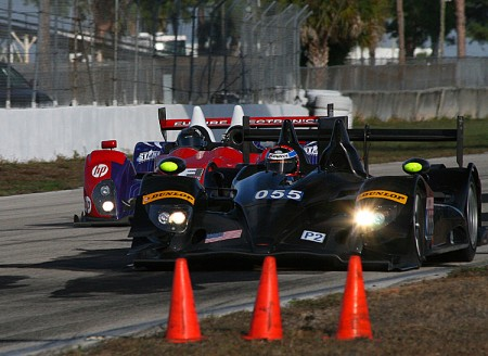American entries Like Level 5's HPD-ARX03b and Dempsey Racing's Oreca FLM-9 will be racing for class wins—and the honor of winning an historic race. (James Fish/The Epoch Times)