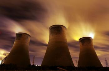 The coal fueled Fiddlers Ferry power station emits vapor on Nov. 16, 2009 in Warrington, U.K. As world leaders prepare to gather for the Copenhagen Climate Summit, the release of hacked emails onto the Internet has caused a furor over the ethics of climate scientists. (Christopher Furlong/Getty Images)