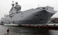 Georgia Worried About French Warship Sale to Russia