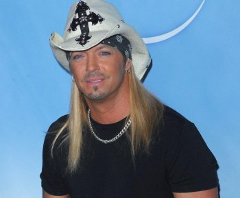 Bret Michaels arrives at NBC Universal's Press Tour Cocktail Party at Langham Hotel on January 10, in Pasadena, California.  (Jason Merritt/Getty Images)