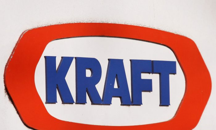 The Kraft logo marks the location of the Research and Development center for Kraft Food Inc. in Glenview, Ill. Mondelez was selected as the new name for its global snacks company from an internal survey of Kraft employees. (Scott Olson/Getty Images)