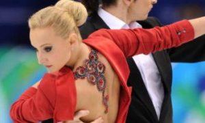 Russian World Champions Top in Ice Dancing First Round