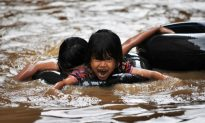 Indonesian Capital Jakarta Submerged by Floods