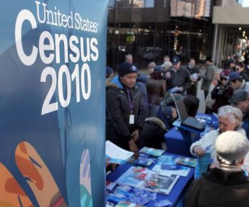 The Census Bureau released figures for 2009 and found the total federal spending last year reached $3.2 trillion, which is the equivalent to $10,548 per person living in the United States. (Spencer Platt/Getty Images)