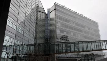 Nokia�the biggest cell phone maker in the world�headquarters pictured in Espoo on March 26, 2010. Nokia has announced disappointing fourth-quarter 2010 financial results.  (Kimmo Mantyla/Getty Images )