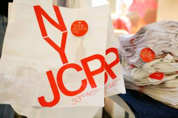 The JCPenney the Goodwill Denim Drive in April 2010 in New York City. J.C. Penney Co. Inc. said on Monday that it has given board seats to two of its most influential investors, and that it would close stores in the US to slash costs. (Amy Sussman/Getty Images)