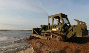 Oil Spill Cleanup Continues With Little Success
