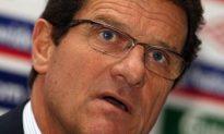 Capello Names Preliminary 30-Man World Cup Squad