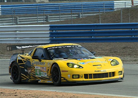 Corvette Racing's C6Rs were the fastest non-Ferrari GTs. (James Fish/The Epoch Times)