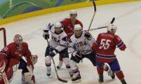 USA Rips Norway in Men's Hockey