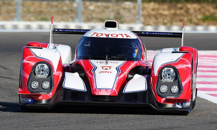 Toyota will compete for the 2012 WEC championship its TS 030 Hybrid. (Toyota)