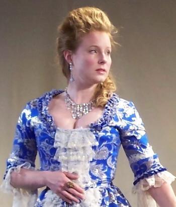 Amanda Jones as Marie Antoinette.   (Alison Franks)