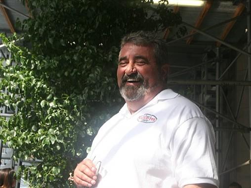 Joe Duncan, manager of Baker's Rib