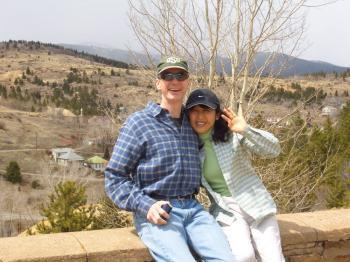 Kurt Pipa with his Japanese wife, Chieko. (Anne Pipa)