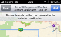 Apple Maps Could Lead You to Your Death, Warn Australia Police