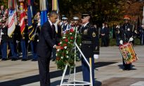 President Obama Honors Veterans at Arlington Cemetery Ceremony