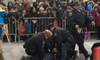 Man Arrested After Attacking Chinese New Year Parade Banner