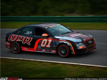 The APR Motorsports Audi S4 in action at VIR. (Courtesy APR Motorsports)