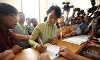 Aung San Suu Kyi in Parliament Debut
