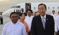 UN Chief Visits Very Different Burma 3 Years Later