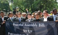 Malaysian Lawyers March to Oppose New Assembly Bill