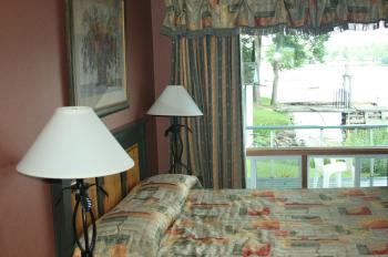 Our cottage on Rocky Point, with views of Sparrow Lake on two sides. (The Epoch Times)