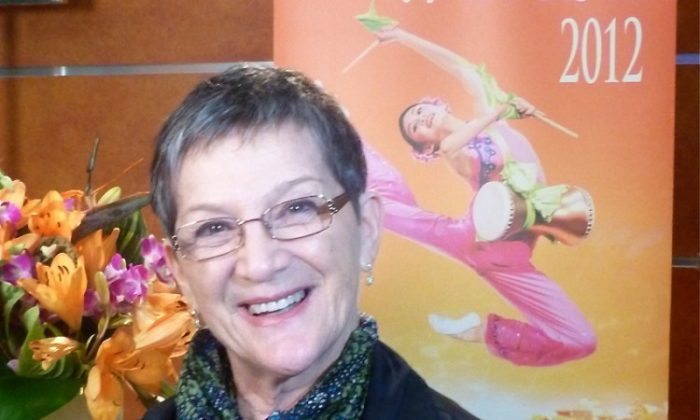 Bella Swartzberg enjoyed the Shen Yun Performing Arts' presentation at Sydney's Capital Theatre, on Sunday afternoon. (Oliver Perrett/The Epoch Times)