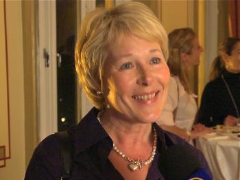 Opera singer and General Manager of the Royal Opera in Stockholm, Ms. Birgitta Svenden. (Courtesy of NTD Television)
