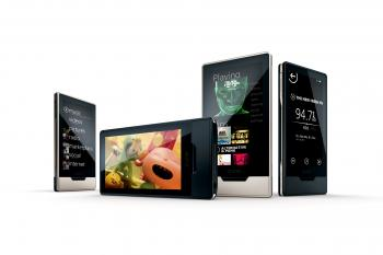 ENTERTAINMENT: The Zune HD MP3 player.  (Courtesy of Microsoft)