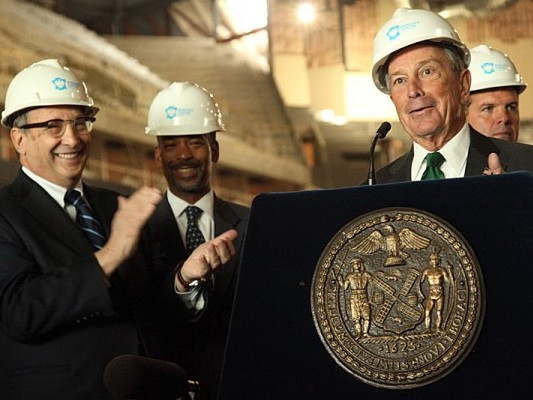 Mayor Michael Bloomberg announces new jobs at Barclay's Center in Brooklyn (Photos Courtesy of the Mayor's Office)