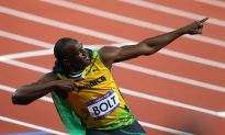 Usain Bolt, World's Fastest Man at London 2012 Olympics