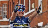 Borut Bozic Sprints Out of Chaos to Win Tour de Suisse Stage Five