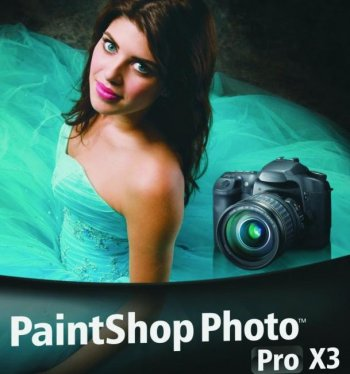 A box shot of Corel PaintShop Photo Pro X3.  (Courtesy of Corel)