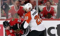 Blackhawks Win Game 1 Shootout over Flyers