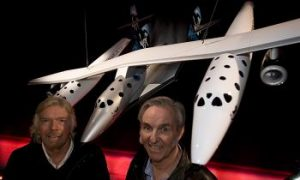 Branson Unveils Carrier Craft for Space Tourism