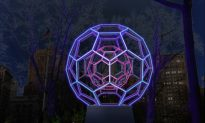 Molecule Sculpture to Illuminate Madison Square Park
