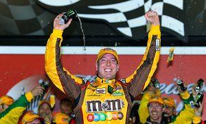 Kyle Busch Survives Wrecks to Win NASCAR'S Budweiser Shootout