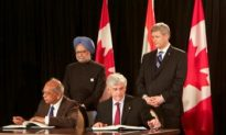 Nuclear Agreement Signed by Canada and India