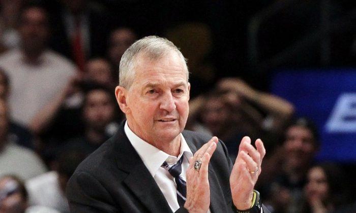 Jim Calhoun won three titles at Connecticut. (Jim McIsaac/Getty Images)