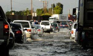 Heavy Flooding Hits Calfornia