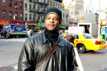 Cedrick Terrell, 38, actor, Jersey City (By Joshua Philipp/The Epoch Times)