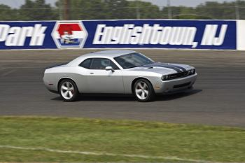 2009 Dodge Challenger at NY launch (Courtesy of Dodge Media)
