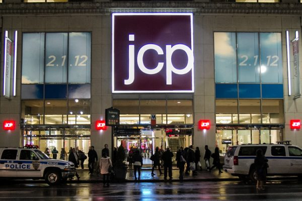 J. C. Penney store in the Manhattan