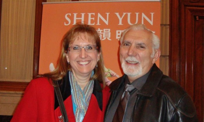 Joyce Gindlesperger attended Shen Yun with her husband, Don, on Feb. 16, at Benedum Center for the Performing Arts. (Pamela Tsai/The Epoch Times)